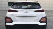 Hyundai Kona rear snapped in China