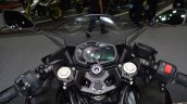 Kawasaki Ninja 400 Black cockpit at 2017 Thai Motor Expo