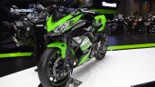 Kawasaki Ninja 650 KRT Edition front left quarter at 2017 Thai Motor Expo