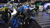 Kawasaki Z300 ABS front left quarter at 2017 Thai Motor Expo