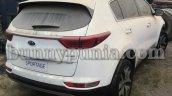 Kia Sportage spotted in India rear