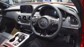 Kia Stinger dashboard at 2017 Thai Motor Expo