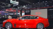 Kia Stinger profile at 2017 Thai Motor Expo