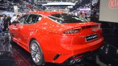 Kia Stinger rear three quarters at 2017 Thai Motor Expo