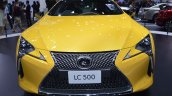Lexus LC 500 front at 2017 Thai Motor Expo