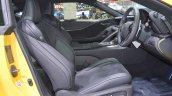 Lexus LC 500 front seats at 2017 Thai Motor Expo