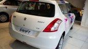 Maruti Swift Limited Edition rear three quarters