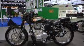 Royal Enfield Bullet 500 left side at 2017 Thai Motor Expo