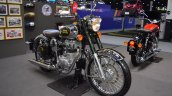 Royal Enfield Classic 500 Chrome front right quarter at 2017 Thai Motor Expo
