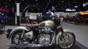 Royal Enfield Classic 500 Gunmetal Grey right side at 2017 Thai Motor Expo