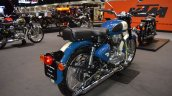 Royal Enfield Classic 500 Lagoon rear right quarter at 2017 Thai Motor Expo