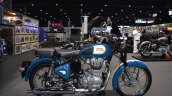 Royal Enfield Classic 500 Lagoon right side at 2017 Thai Motor Expo