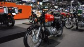 Royal Enfield Classic 500 Redditch front left quarter at 2017 Thai Motor Expo