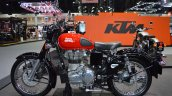 Royal Enfield Classic 500 Redditch left side at 2017 Thai Motor Expo