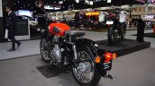 Royal Enfield Classic 500 Redditch rear left quarter at 2017 Thai Motor Expo