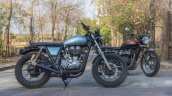 Royal Enfield Continental GT Rudra by Nomad Motorcycles right side