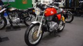 Royal Enfield Continental GT front left quarter at 2017 Thai Motor Expo