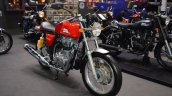 Royal Enfield Continental GT front right quarter at 2017 Thai Motor Expo