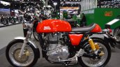 Royal Enfield Continental GT left side at 2017 Thai Motor Expo