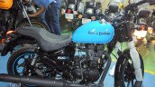 Royal Enfield Thunderbird 500X Blue spied right side