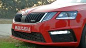 Skoda Octavia RS review test drive bumper