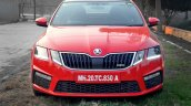 Skoda Octavia RS review test drive front