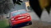 Skoda Octavia RS review test drive rear far
