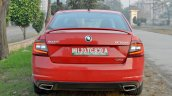 Skoda Octavia RS review test drive rear