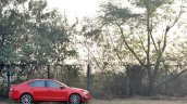 Skoda Octavia RS review test drive side