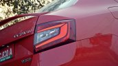 Skoda Octavia RS review test drive taillight