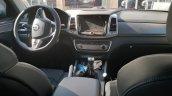 SsangYong Rexton Sports (Q200) MT interior spy shot