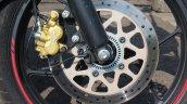Suzuki Gixxer SF SP FI ABS review front brake