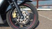 Suzuki Gixxer SF SP FI ABS review front wheel