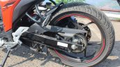 Suzuki Gixxer SF SP FI ABS review rear wheel
