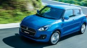 Suzuki Swift Hybrid front three quarters left side