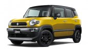 Suzuki Xbee front three quarters left side