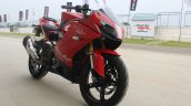 TVS Apache RR 310 first ride review front right quarter