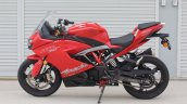 TVS Apache RR 310 first ride review left side