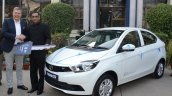 Tata Tigor EV first batch handed over to EESL