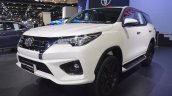 Toyota Fortuner TRD Sportivo front three quarters left side at 2017 Thai Motor Expo