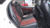 Toyota Fortuner TRD Sportivo rear seats at 2017 Thai Motor Expo