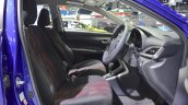 Toyota Yaris Ativ S front seats at 2017 Thai Motor Expo
