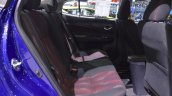 Toyota Yaris Ativ S rear seats at 2017 Thai Motor Expo