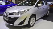 Toyota Yaris Ativ front three quarters left side at 2017 Thai Motor Expo