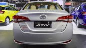 Toyota Yaris Ativ rear at 2017 Thai Motor Expo