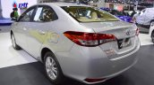 Toyota Yaris Ativ rear three quarters at 2017 Thai Motor Expo