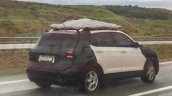 VW T-Cross rear three quarters spy shot
