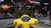 Vespa GTS Super 300 ABS Sport Edition cockpit at 2017 Thai Motor Expo