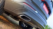 Volvo XC60 test drive review exhaust