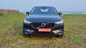 Volvo XC60 test drive review front angle front